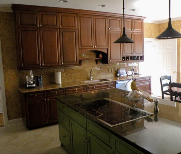 Tall Upper Cabinets Floridian Design Custom Cabinetry