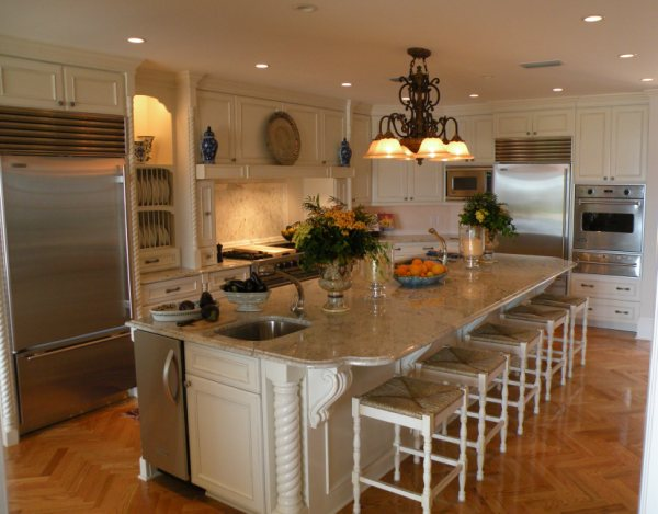 chef's kitchenfloridian design in jacksonville, fl | floridian