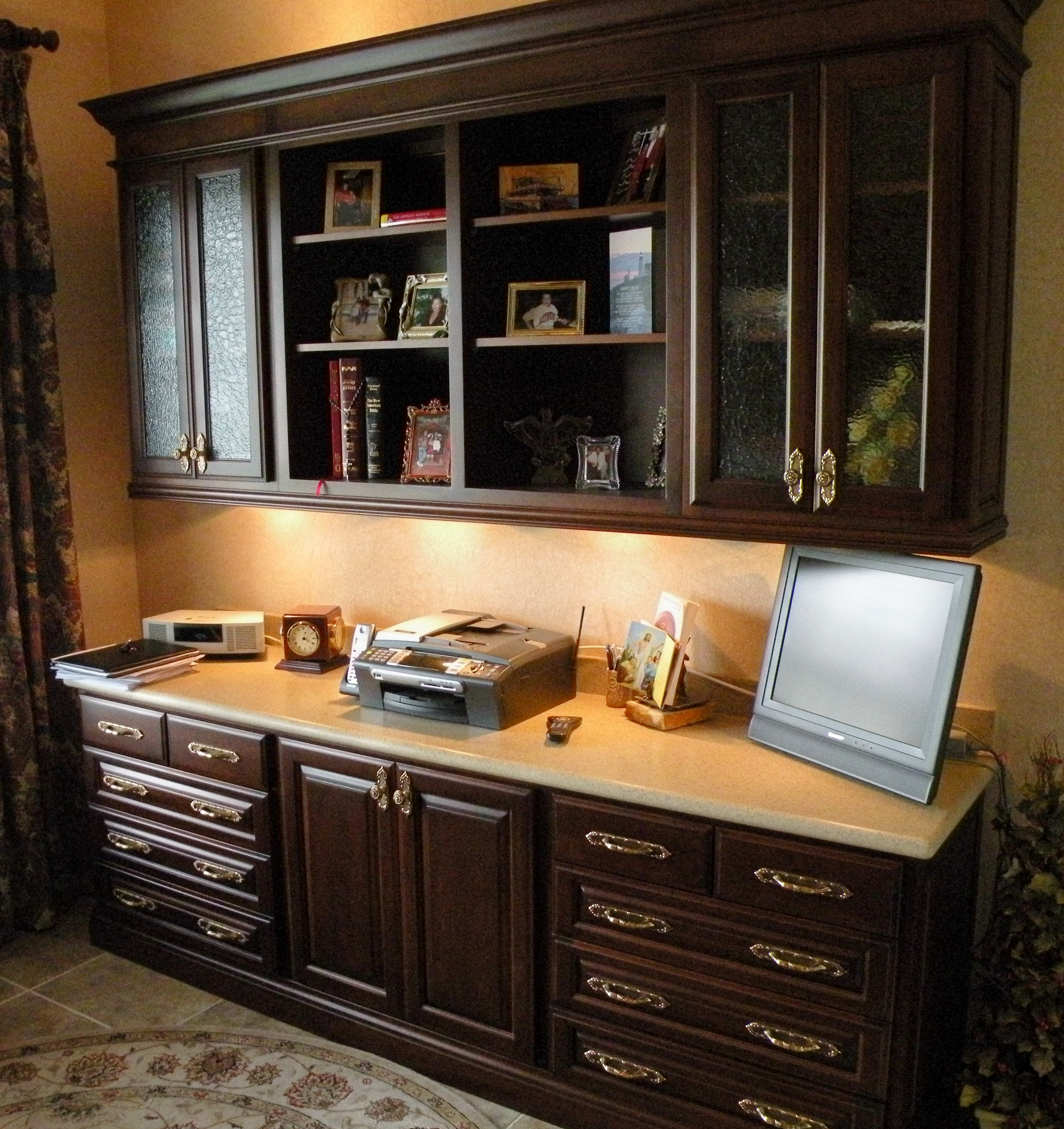 Custom Home Office Cabinets. This Post Is Tagged: Custom Home Office  Cabinets